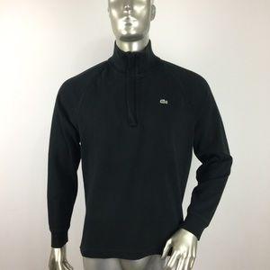 Lacoste half zip pullover sweater size 5 Medium